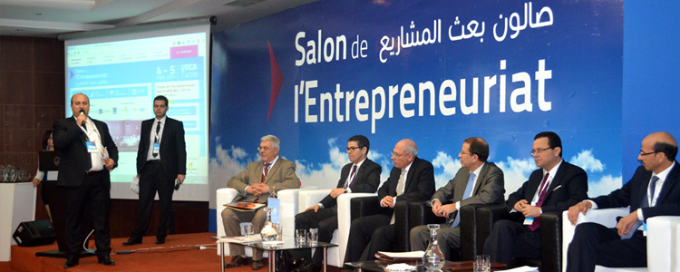 Franc succ s du salon de l 39 entreprenariat 2014 tunisie for Salon entreprenariat
