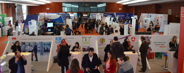 Franc succs du salon de l 39 entreprenariat 2014 tunisie for Salon entreprenariat
