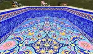 Prestation de service de revtement et liner pour piscine for Construction piscine tunisie
