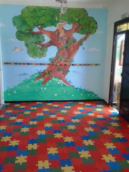 Couvre sol en pvc pour chambre d 39 enfant tunisie for Sol pvc chambre enfant