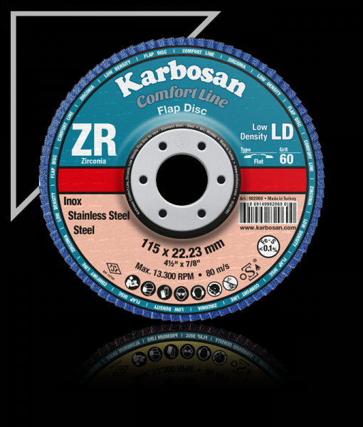 Vente de Disque Abrasif Dur (Flap disc) Grain 40; 60; 80