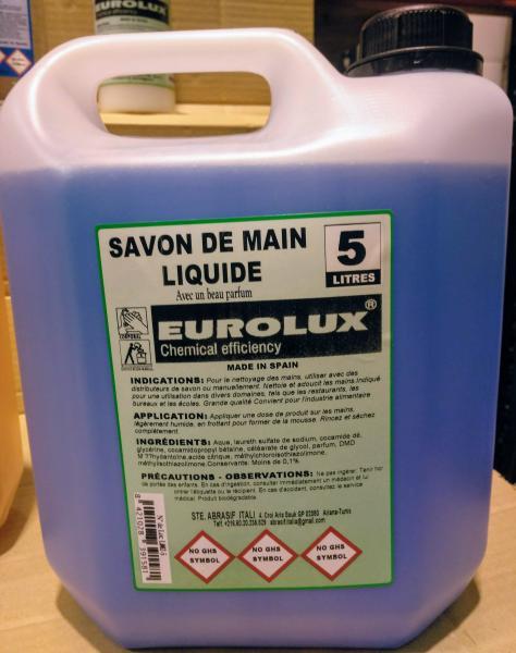 Vente de Savon liquide pour mains