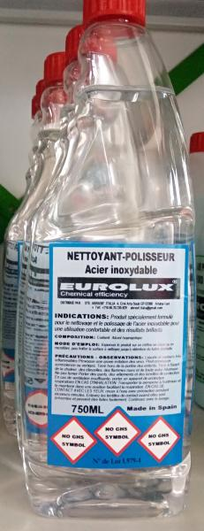 Nettoyant toute surface en inox