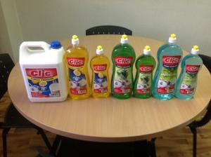 Vente de liquide vaisselle