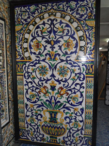 vente de tableau mural sur carrelage tunisie. Black Bedroom Furniture Sets. Home Design Ideas