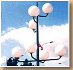 Globes Luminaires en Polycarbonate (PC) ou en Poly�thyl�ne (PE)