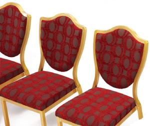 Chaise  banquet pour salon  burgess
