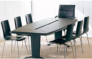 Tables pour salles de réunions : Padova avec sous-mains