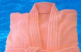 Caps de bain: Peignoir fleur des champs
