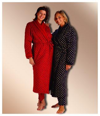 Robe de chambre Ouatinée