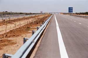 Travaux routiers: Autoroute Maghrébine