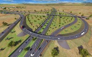 Travaux routiers : Echangeur Autoroutier l'Aéroport d'ENFIDHA