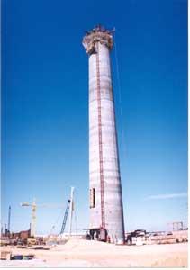 Fondations profondes et travaux spéciaux : Centrale Thermique de Rades