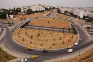 Travaux routiers : Echangeur El Manar