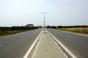 Travaux routiers :Doublement de la Route RN 1 Section Sud De Sousse