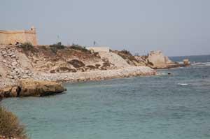 Protection de la Falaise de Mahdia Contre l'Erosion
