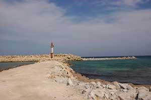 Protection du Port de Pêche De Bekalta