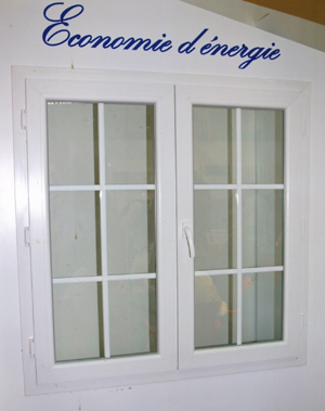 Fenêtres à la française  avec deux ventaux