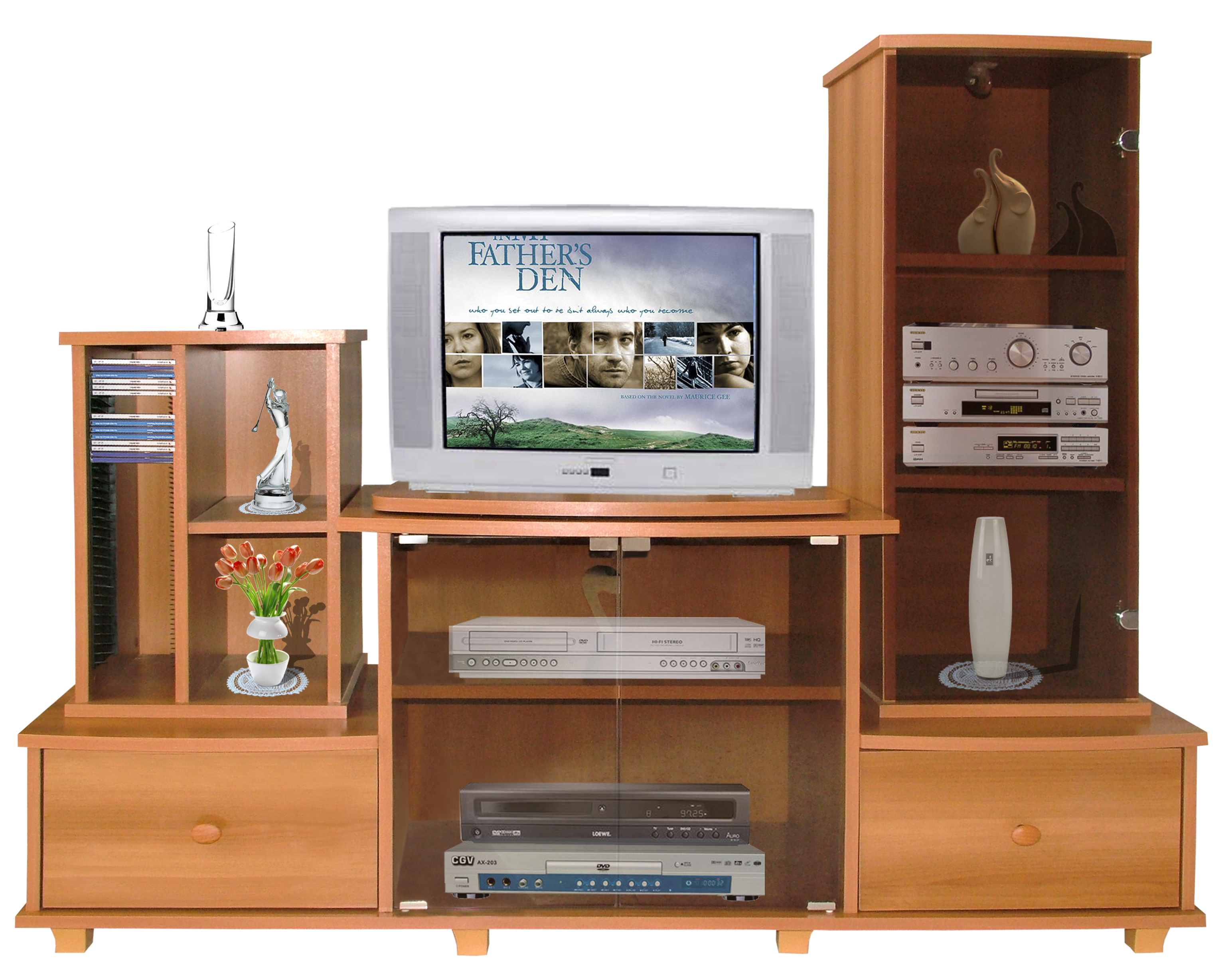Meubles tv et hi fi tunisie for Meuble living tv