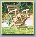 Chaise pliante etoile