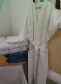 Cape de bain en coton