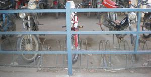 Parc bicyclettes