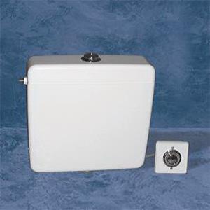 Réservoir pour chasse d'eau en ABS de marque Goman