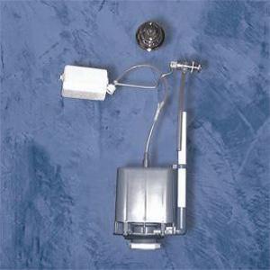Batterie pour chasse d'eau avec commande pneumatique à libre position de marque Goman