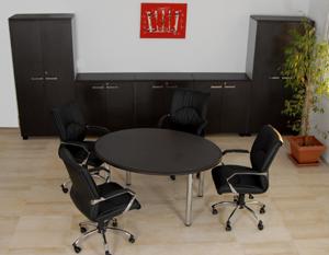 Table de réunion ovale ELYOS