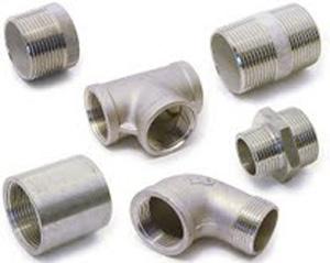 Accessoire de tuyauterie filète en acier inoxydable