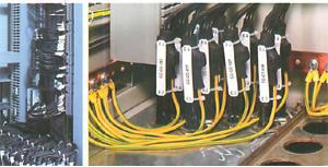 Câblage et repérage d'armoire BT