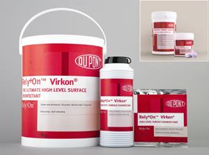 Rely+On Virkon , détergent-désinfectant, de haut niveau à très large spectre pour surfaces, sols et mobiliers - normes européennes