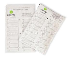 Enveloppe de correspondance interne avec adhésif réutilisable