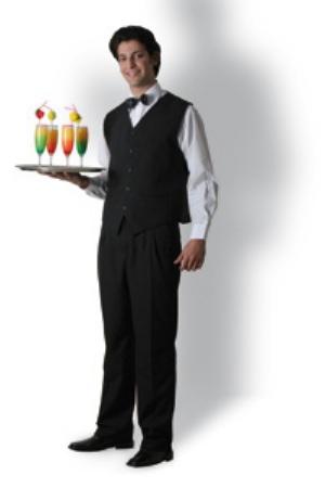 Vêtements pour serveurs
