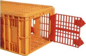 Caisse de transport volailles/dindes CARFED