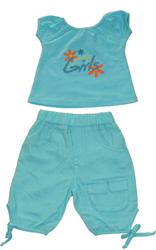 Vêtements pour bébés: Ensemble fillette