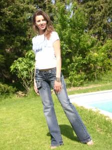 Pantalons en jeans NUAGE