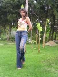 Pantalons en jeans MANHUNT