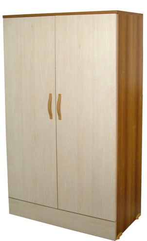 Armoire 2 portes bois stratifié