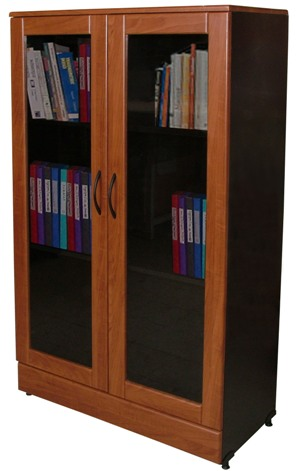 armoire de bureau vitree. Black Bedroom Furniture Sets. Home Design Ideas