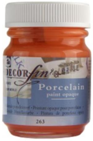 Peinture opaque pour porcelaine