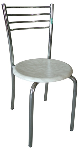 Chaise Delta chromée