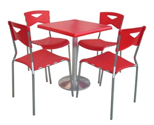 Table + chaises Mimi
