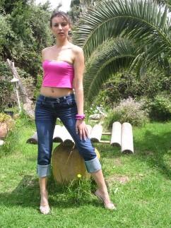 Pantacourt en jeans Pampre
