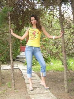 Pantacourt en jeans Guano