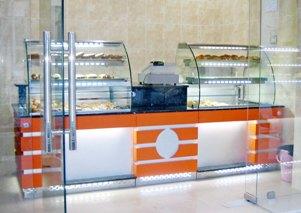 Comptoirs cafétéria et restaurants