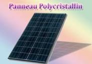 Panneau polycristallin