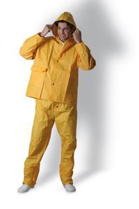 Vêtements de travail pour l'industrie ensemble de pluie