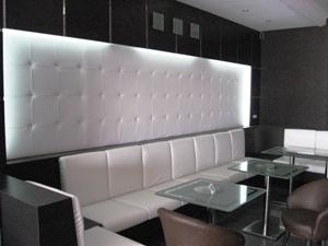 Banquette salon de th�