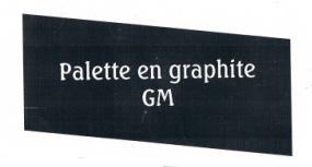 Palette en graphite